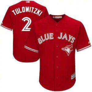 Toronto Blue Jays Troy Tulowitzki #2 Red Jersey